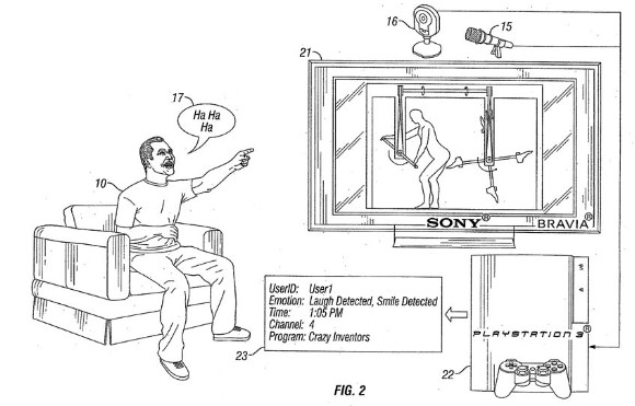 CoolGamesWorld_Sony_Laugh_Detector_PS3_Patent_Skynet