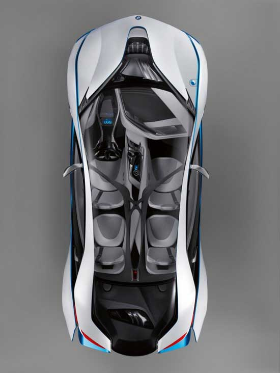 CoolGamesWorld_BMW_Vision_Efficient_Dynamics_Concept_Sports_Car_European_Sports_Car_Overhead_View